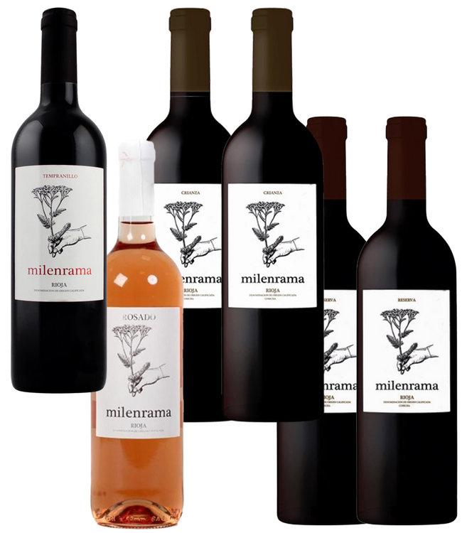 Milenrama Proefdoos Rioja