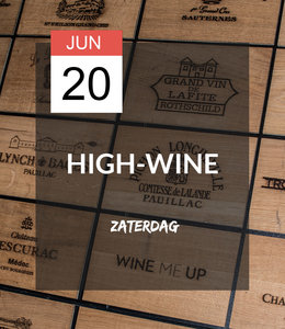 20 JUN - High-wine!