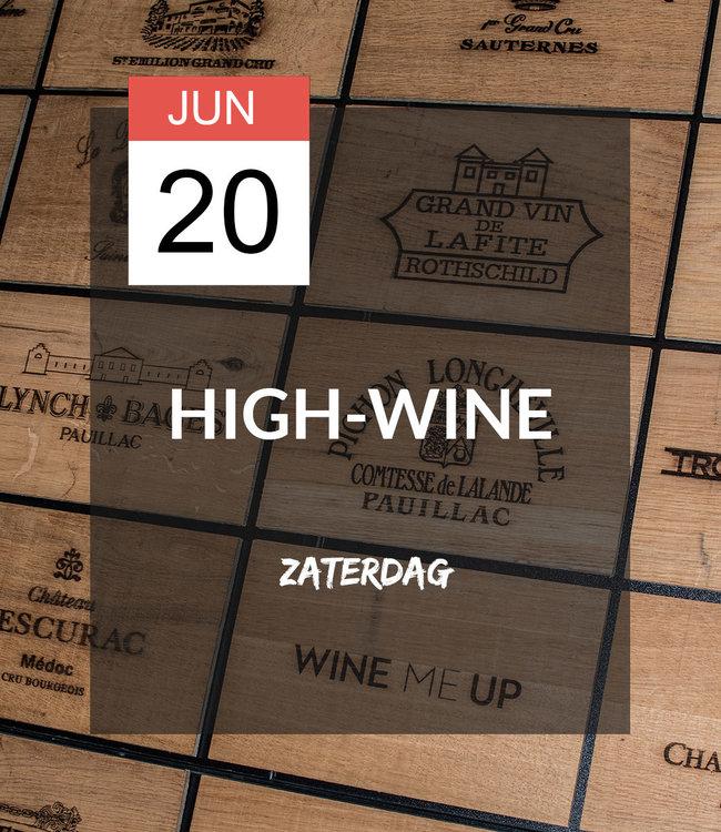 20 JUN - High-wine!