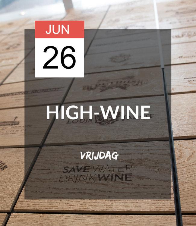 26 JUN - High-wine!