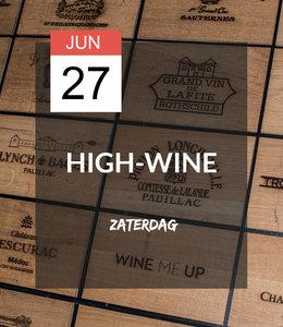 27 JUN - High-wine!
