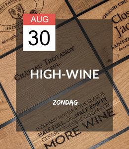30 AUG - High-wine!
