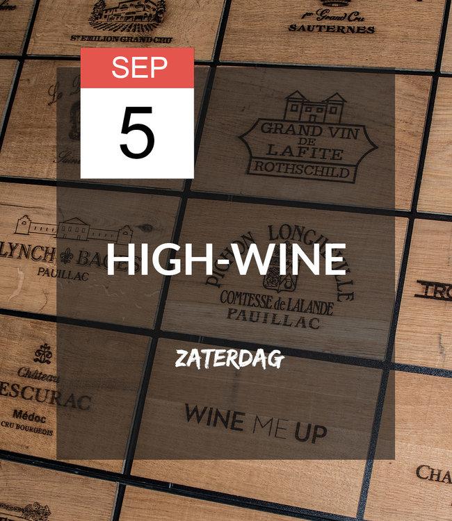 5 SEP - High-wine!