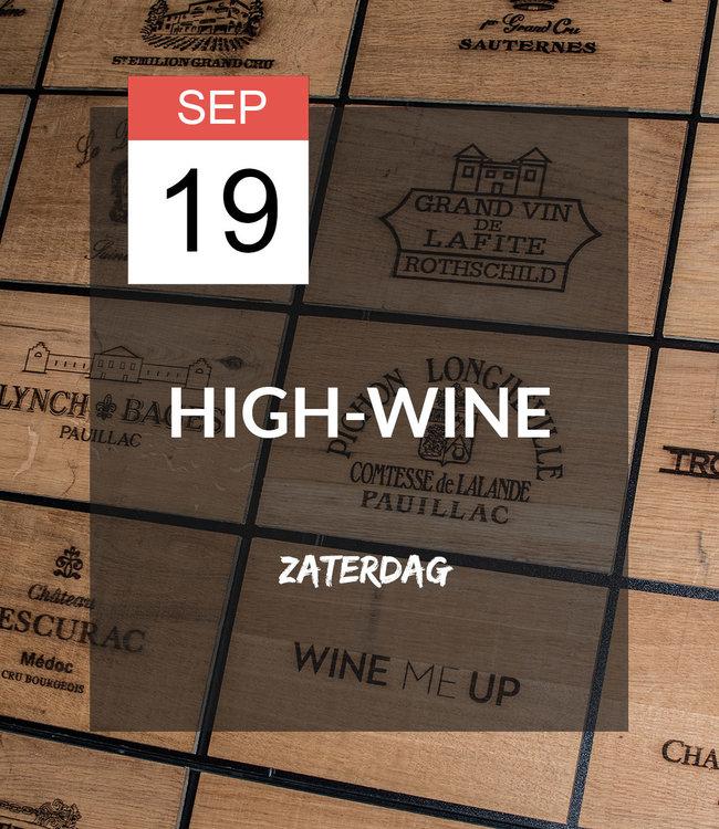 19 SEP - High-wine!