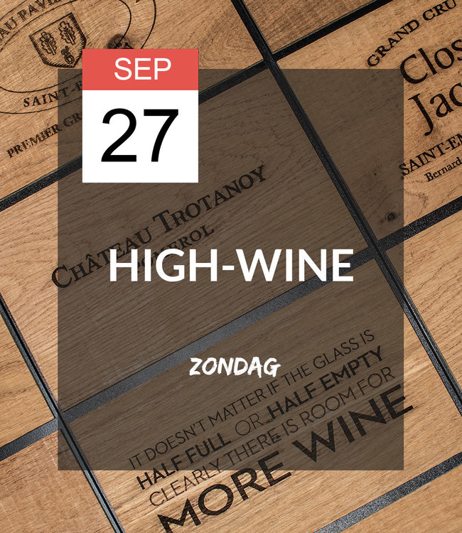 27 SEP - High-wine