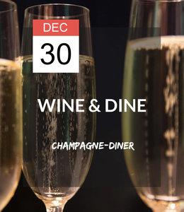 30 DEC - Wine & Dine: Champagne-diner
