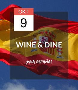 9 OKT - Wine & Dine: ¡Viva España!