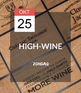 25 OKT - High-wine!