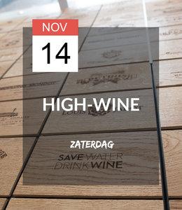 14 NOV - High-wine!