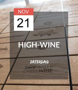 21 NOV - High-wine!