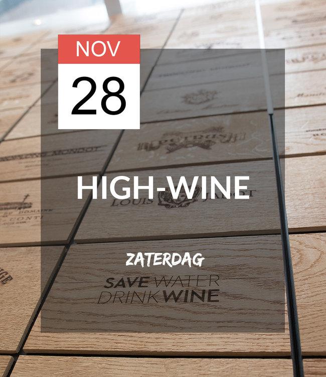 28 NOV - High-wine!