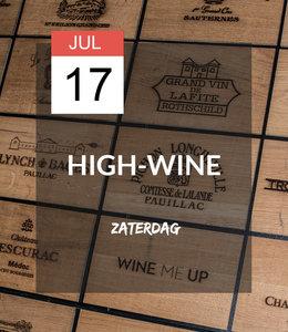 17 JUL - High-wine!