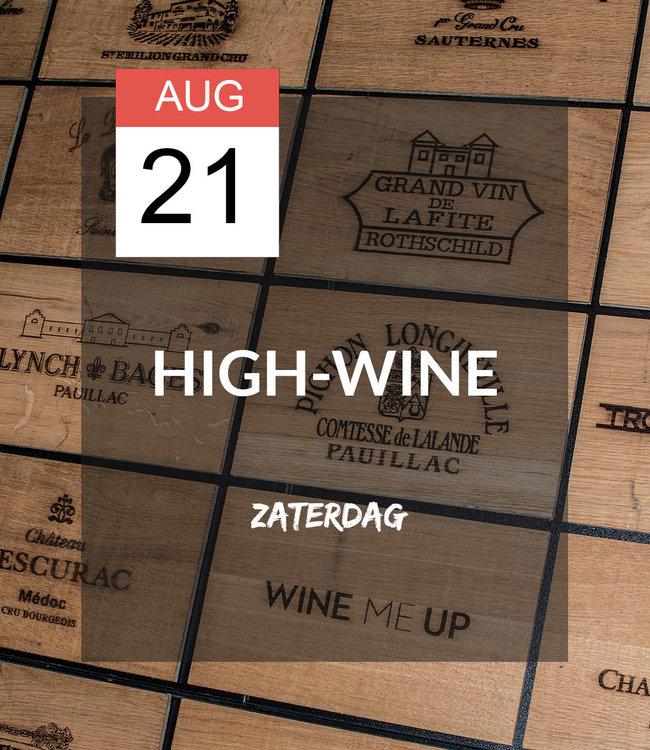 21 AUG - High-wine!