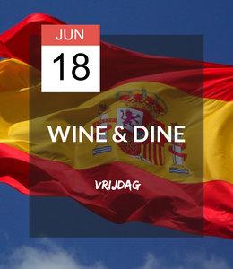 18 JUN - Wine & Dine: ¡Viva España!