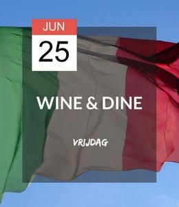 25 JUN - Wine & Dine: Viva Italia!