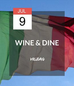 9 JUL - Wine & Dine: Viva Italia!