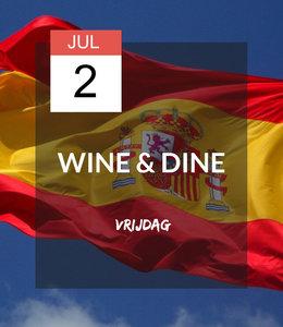 2 JUL - Wine & Dine: ¡Viva España!