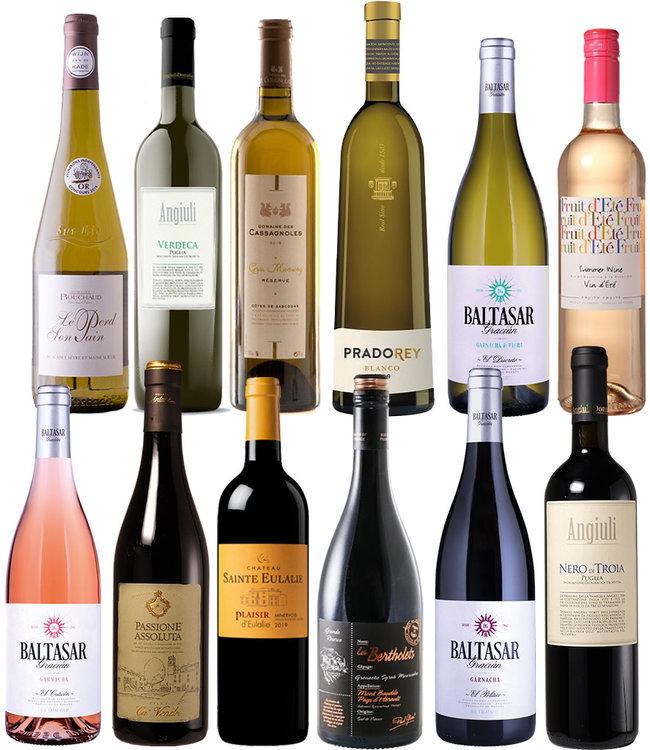 Proefdoos Wijnen onder de 10 euro