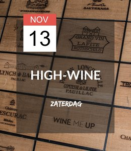 13 NOV - High-wine!
