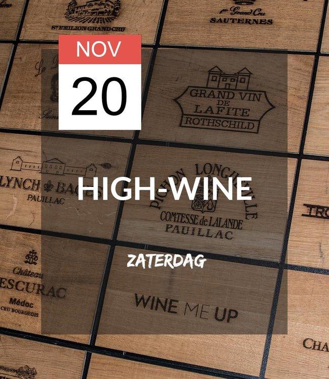 20 NOV - High-wine!