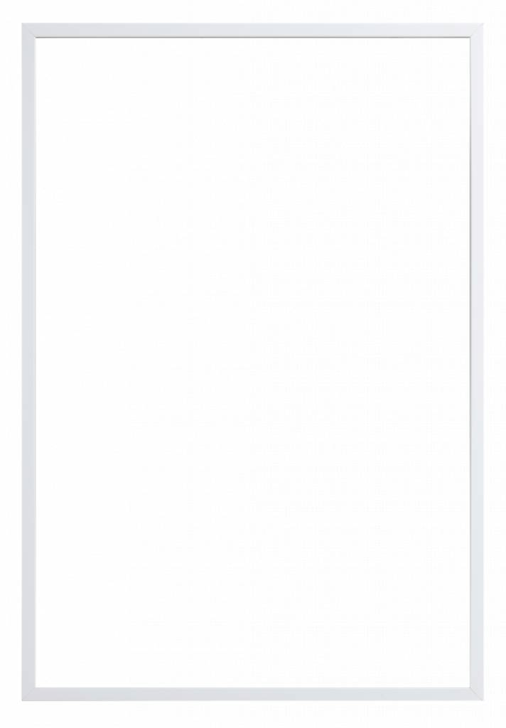 Ravenna - Strakke Diepe lijst - Kleur Wit