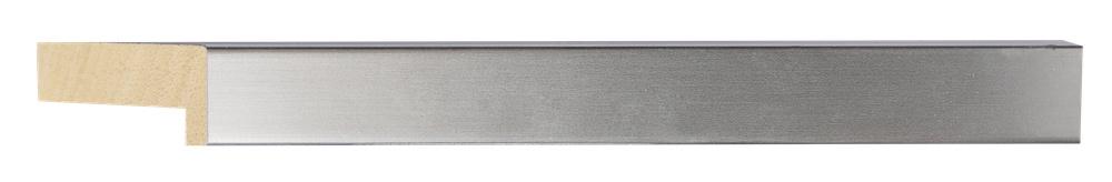 Ravenna - Strakke Diepe lijst - Kleur Zilver