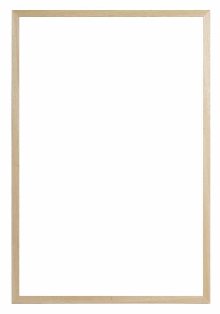 Oslo - Eenvoudige Smalle Moderne Lijst - Houtkleur