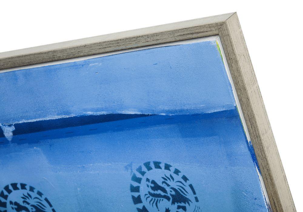 San Rocco - Smalle Baklijst voor Doek en Paneel - Kleur Zilver