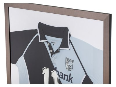 Mariotto - T-Shirt Inlijsten - Geborstelde Lijst - Kleur Zilver