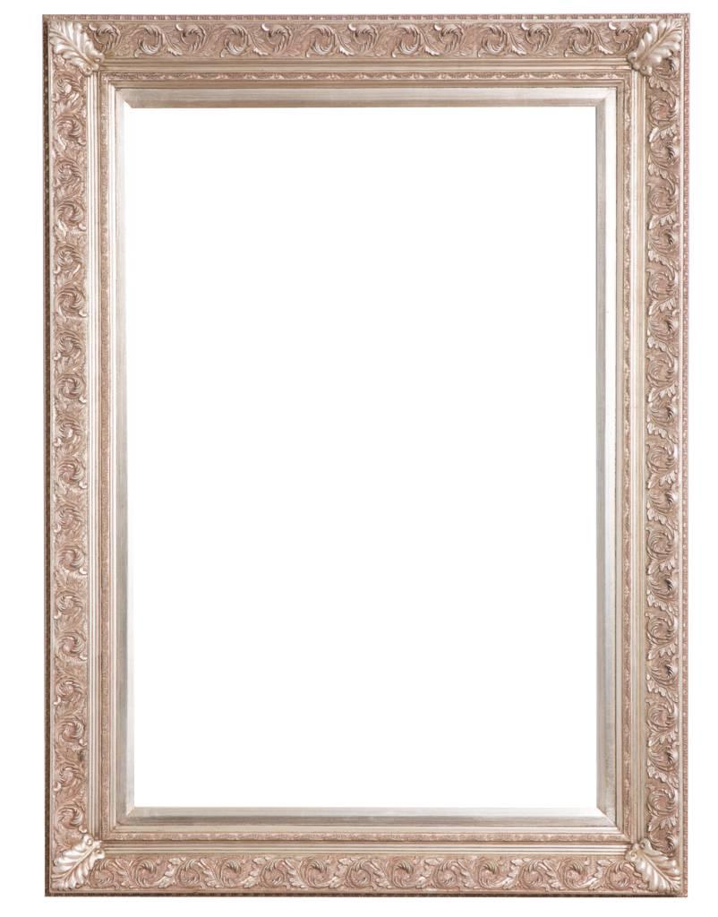 Barok Lijst Op Maat.Savona Zilveren Barok Lijst Met Ornament