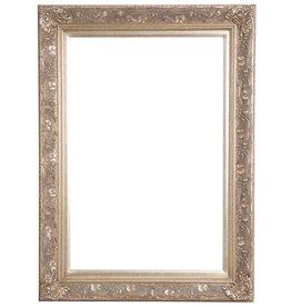 Turin - zilveren barok lijst van hout