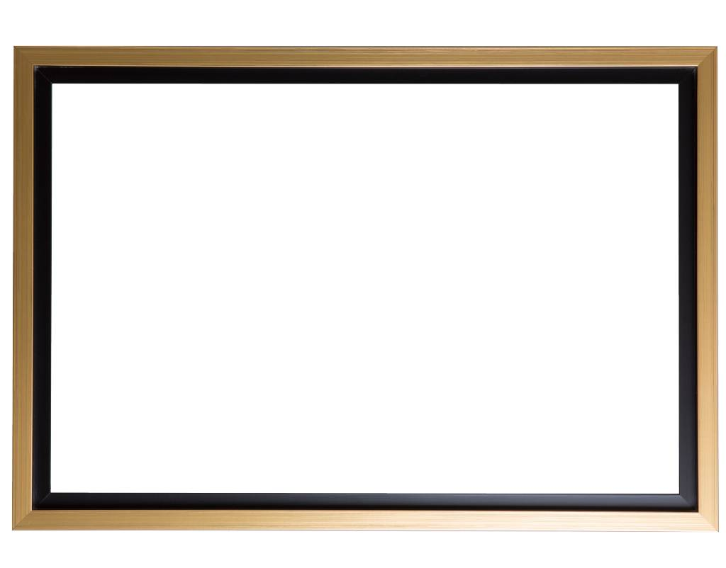 Bojano - brede gouden baklijst