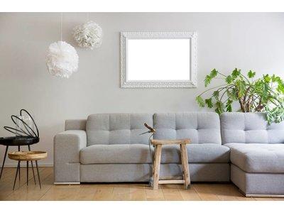 Padua - witte barok lijst 60x120 cm