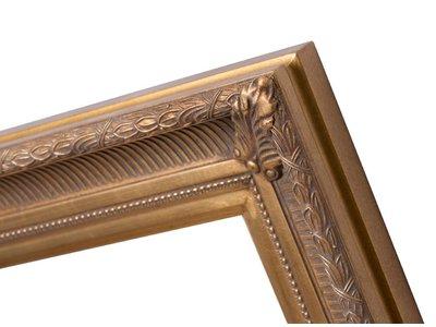 Bari - Gouden lijst van hout met ornament