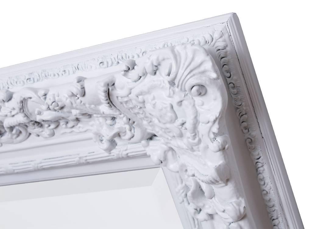 Palermo - barokspiegel - wit