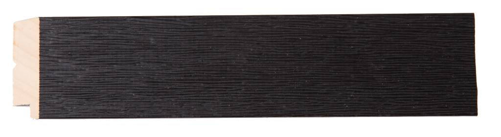 Boriana - Betaalbare Landelijke Lijst - Zwart Gekleurd Hout