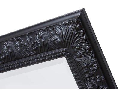 Marbella - spiegel - zwart