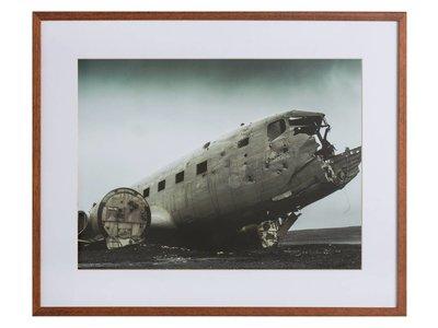 Broken plane by Blair Fraser