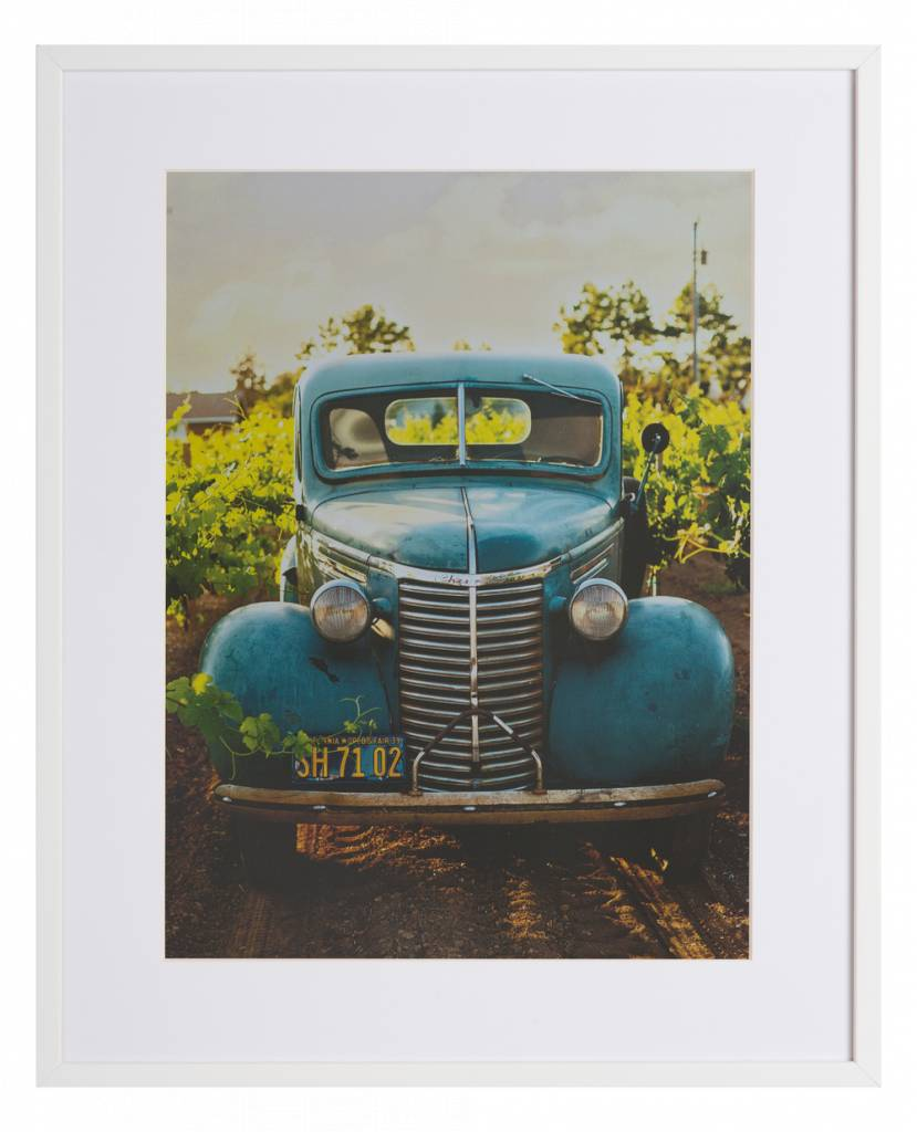 Vintage auto by Cayton Heath