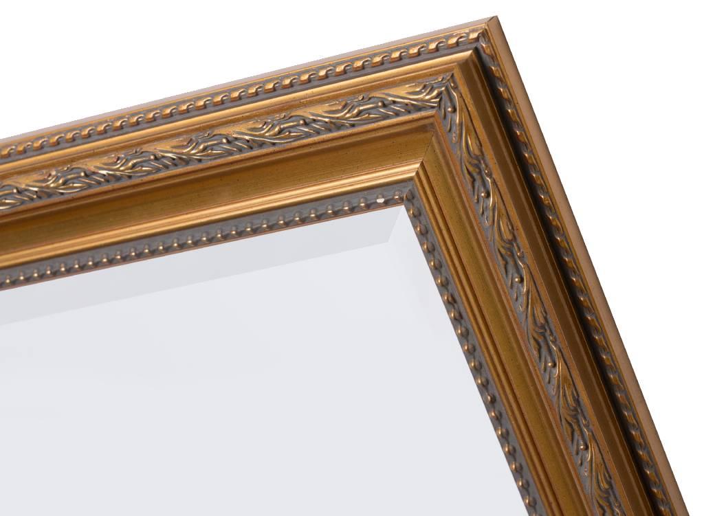 Pizzo - spiegel - goud