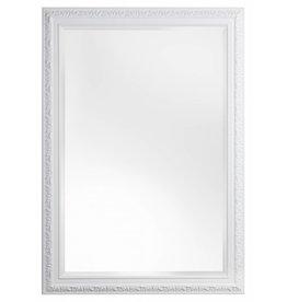 Palmi - Barok Spiegel - Kleur wit