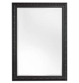 Palmi - klassieke spiegel - zwart