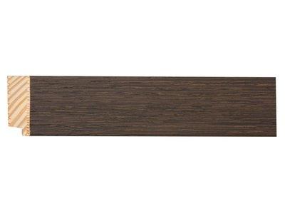 Sardinia Medio- spiegel - donker hout