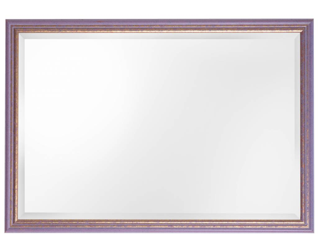 Breda - spiegel - lila/goud