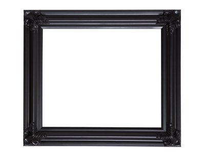 Valencia - Klassieke Barok Lijst - Zwart Gekleurd