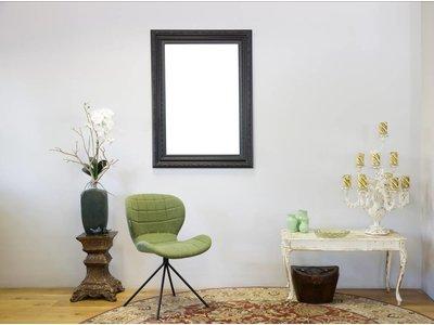Montpellier - Brede Klassieke Lijst - Kleur Zwart