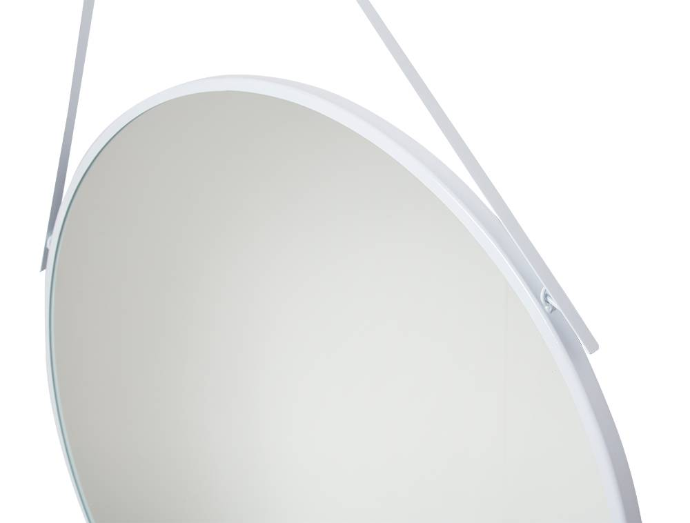 Spiegel San Francisco - ronde spiegel - wit