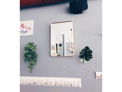 Spiegel Deedee - spiegel - zwart