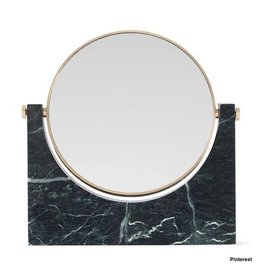 Marble Mirror - donkergroen
