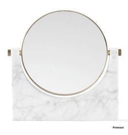 Marble Mirror - wit